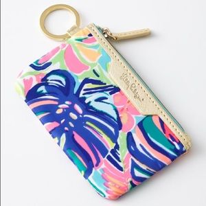Lilly Pulitzer Key ID Case Exotic Garden